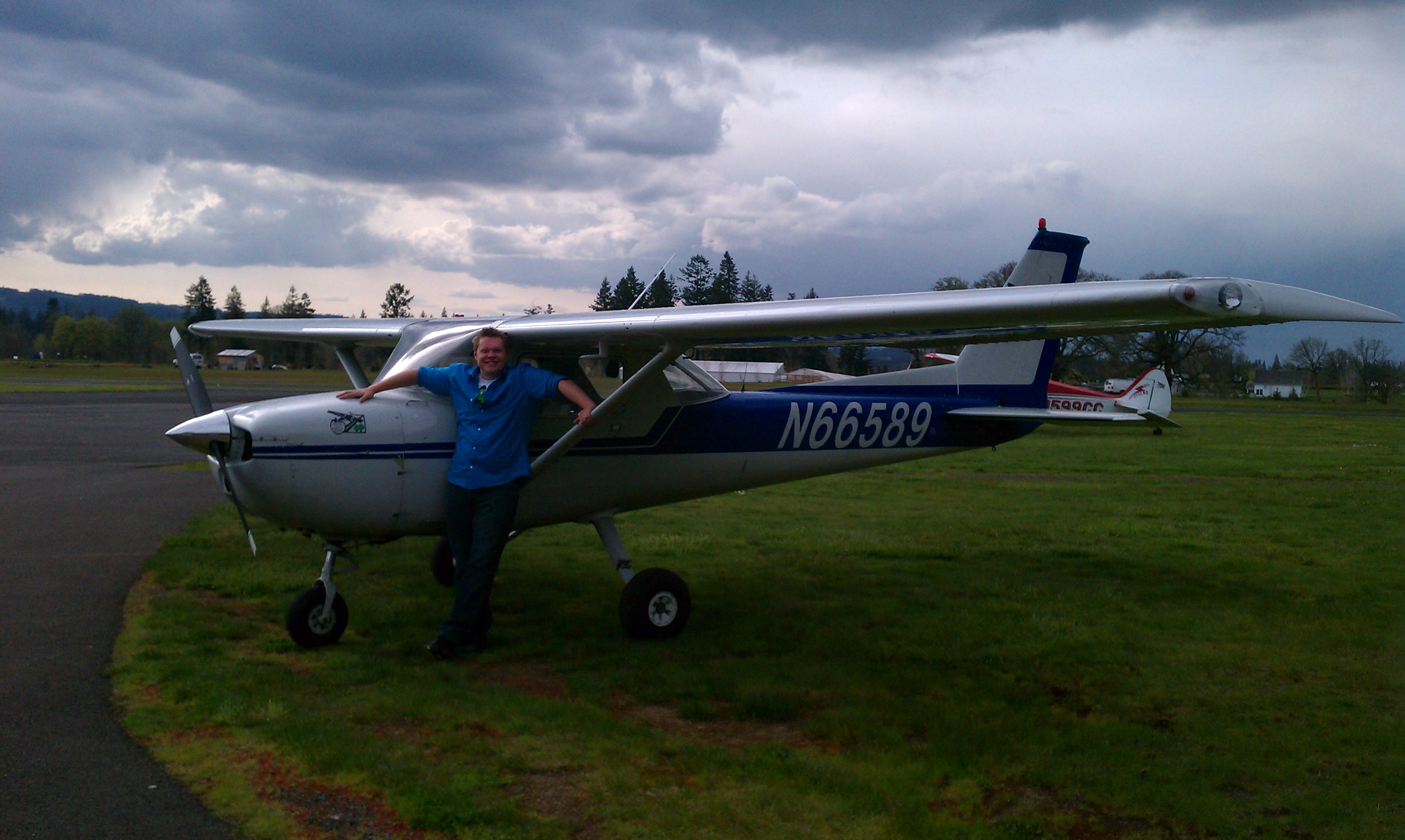 Getting Close with a Cessna 150